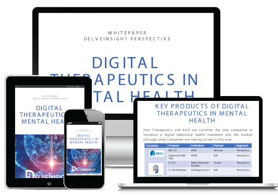 Digital Therapeutics In Mental Health Whitepaper