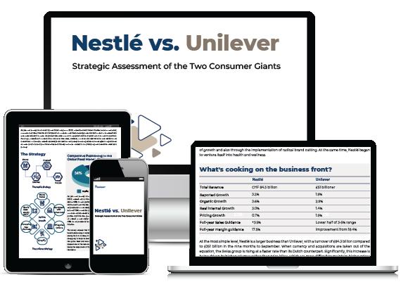Nestlé vs. Unilever