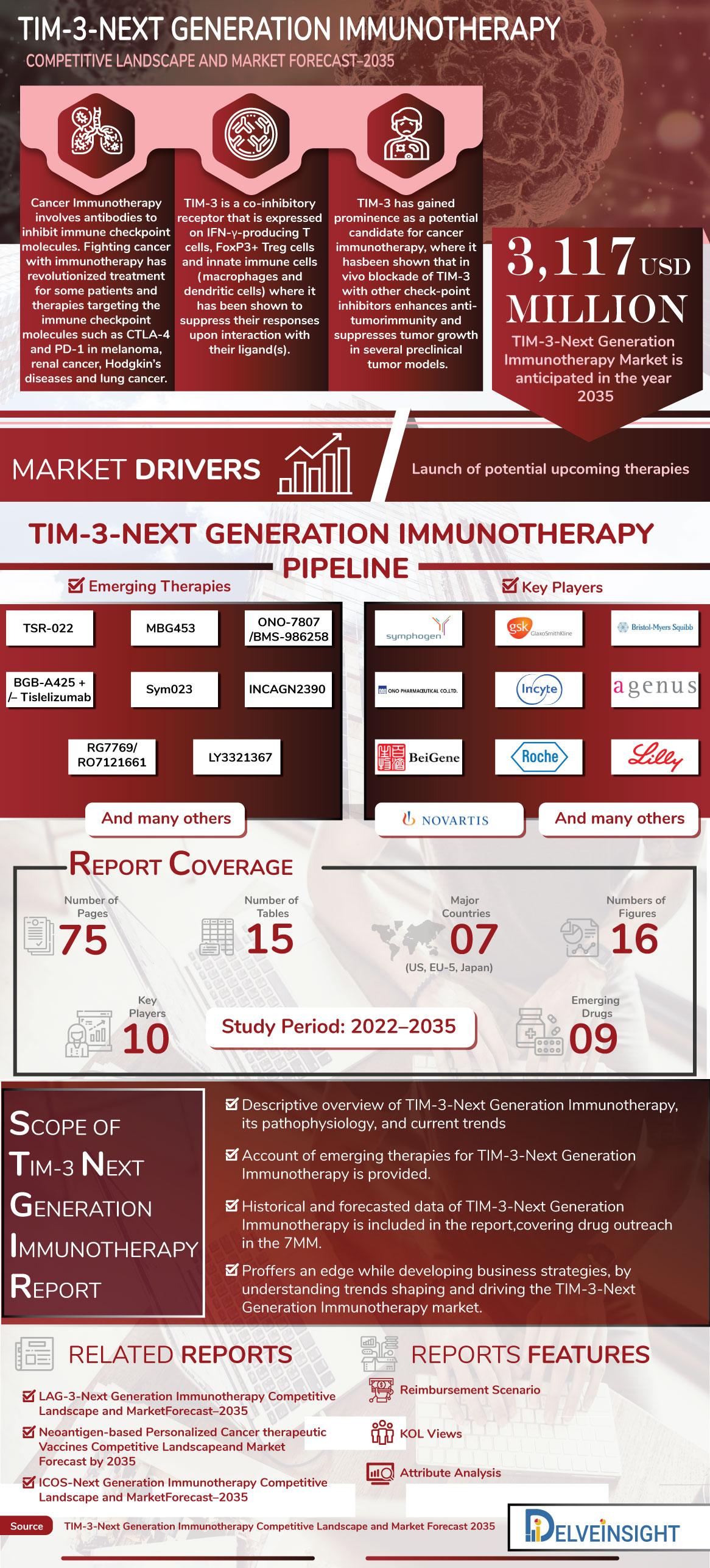 TIM-3-Next Generation Immunotherapy